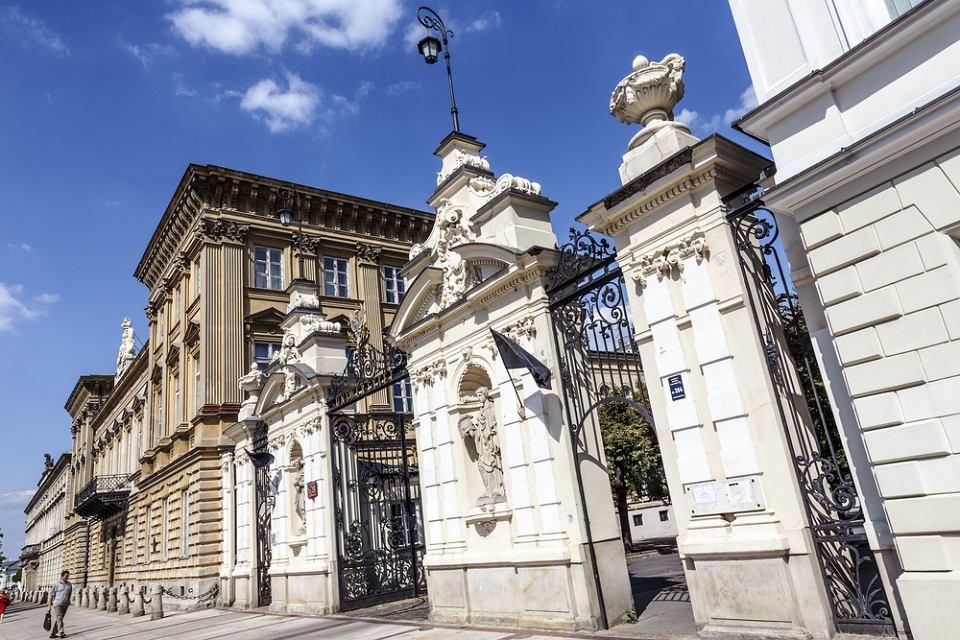 Budynek dawnej Biblioteki Uniwersyteckiej w Warszawie