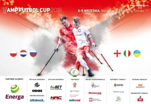 Plakat Amp Futbol Cup 2018
