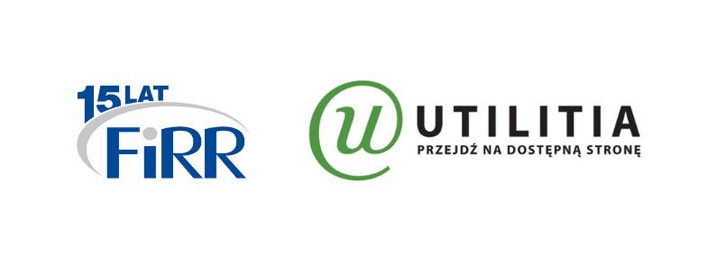Logo FIRR oraz UTILITII
