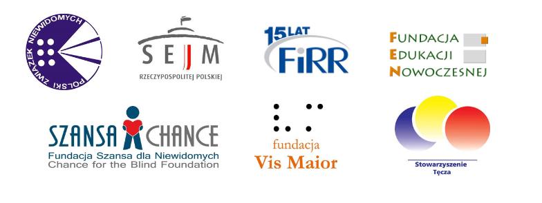 banner z logotypami partnerów konferencji