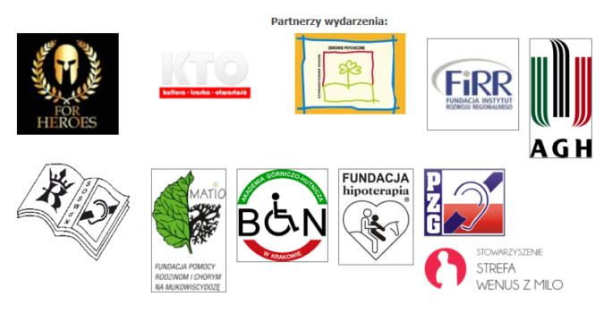 Grafika KOnwentowa z listą partnerów