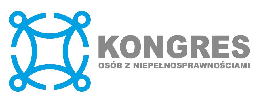 Logo Kongresu Osób z Niepełnosprawnościami