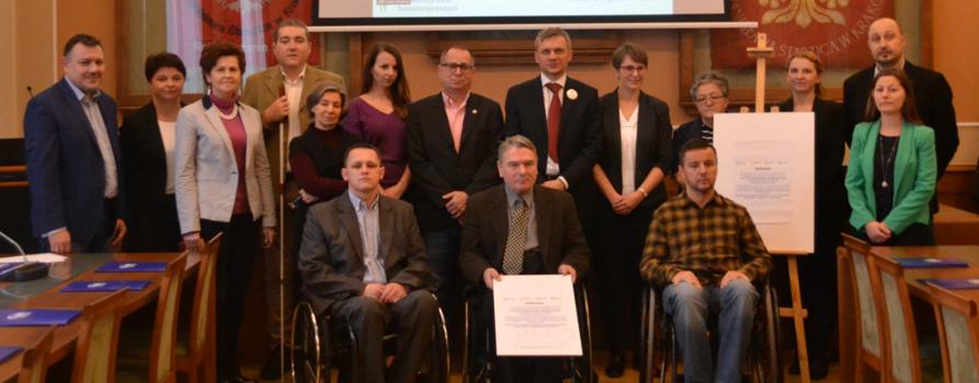 Uczestnicy Konferencji Za Niezależnym Życiem w Krakowie