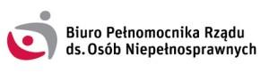 Logotyp Biura Pełnomocnika Rządu ds. Osób Niepełnosprawnych