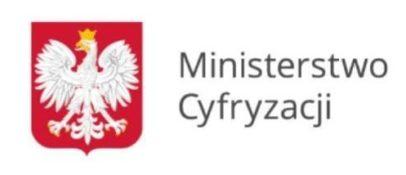 Logotyp Ministerstwa Cyfryzacji