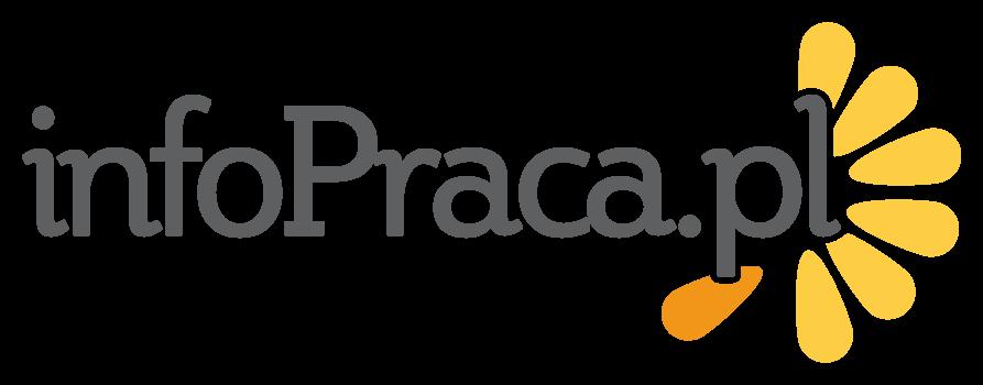 zdjęcie przedstawia logotyp portalu z ogłoszeniami o pracę info praca