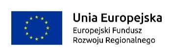 logotyp unii europejskiej, europejskiego funduszu rozwoju regionalnego