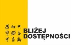 Logotyp projektu Bliżej dostępności