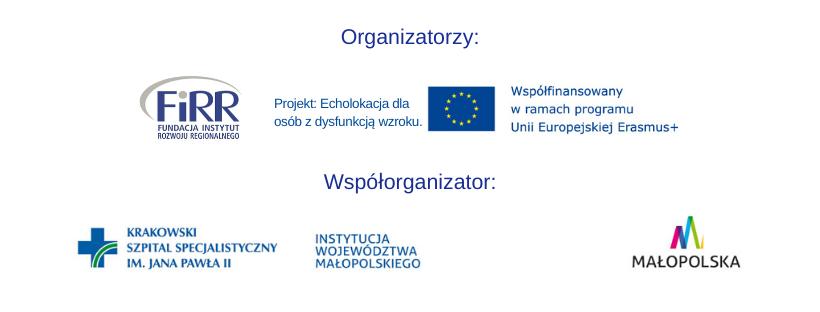 logotypy organizatorów oraz współorganizatora warsztatów z echolokacji