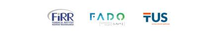 logotypy partnerów projektu bliżej dostępności - naszej fundacji, TUS Oraz FADO
