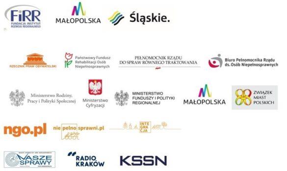 logotypy wszystkich patronów medialnych